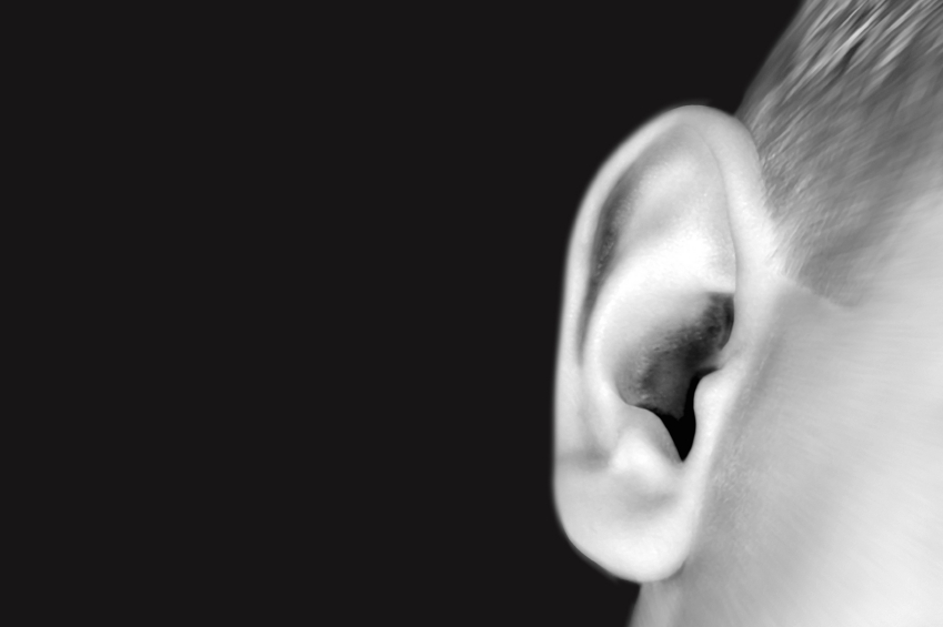Black and White Ear iStock_000000092554_Small