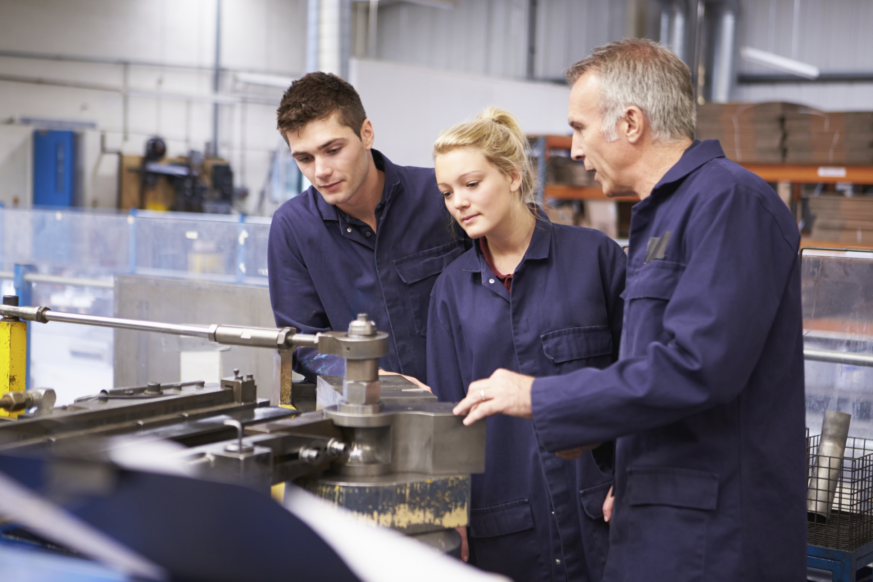 Engineer and Apprentices