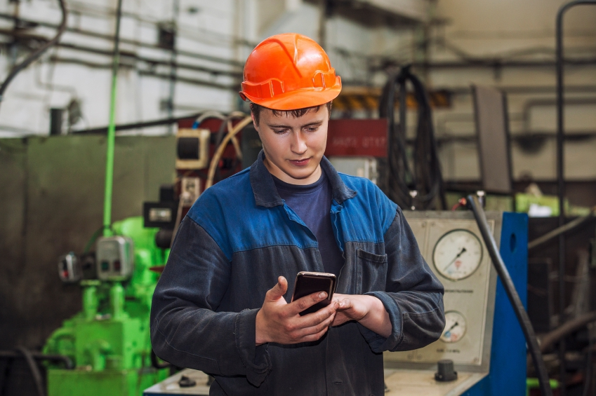 Young male manufacturer iStock_000067202615_Small