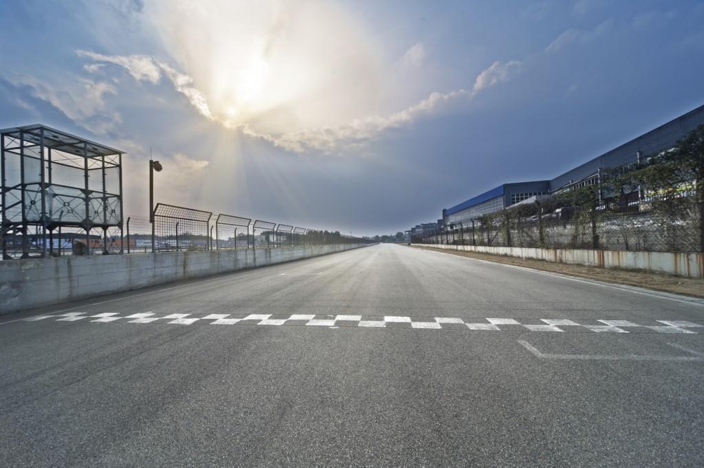 Race Track Start and Finish - iStock_000042344390_Medium