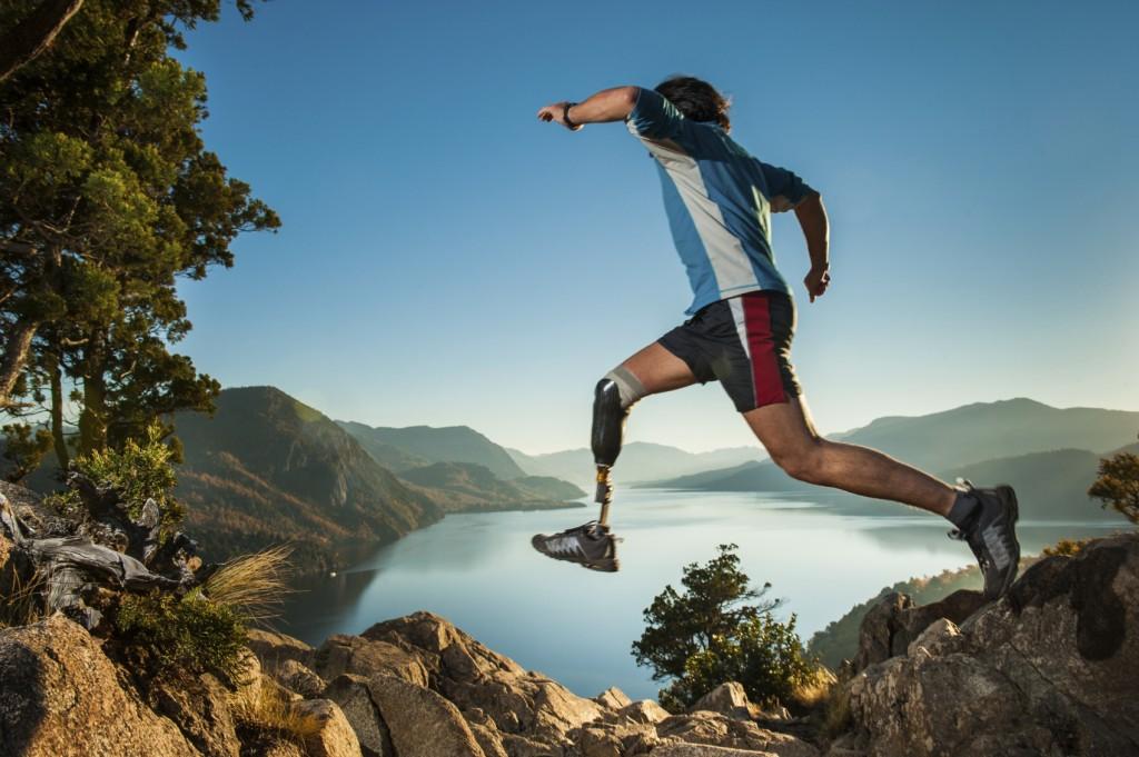 Juming in Patagonia Argentina. Saltando en la patagonia.