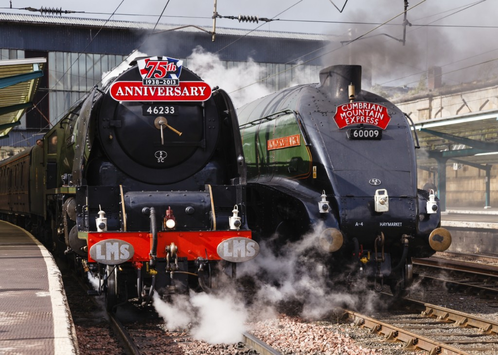 Steam Trains On Parade
