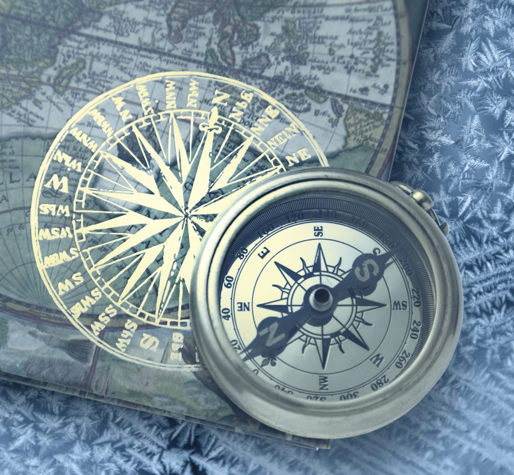 The first compasses were said to be made of lodestones as this is a naturally magnetised iron ore