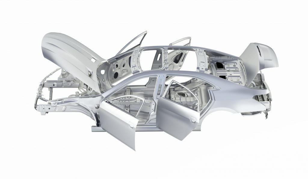 Aluminium Car Shell