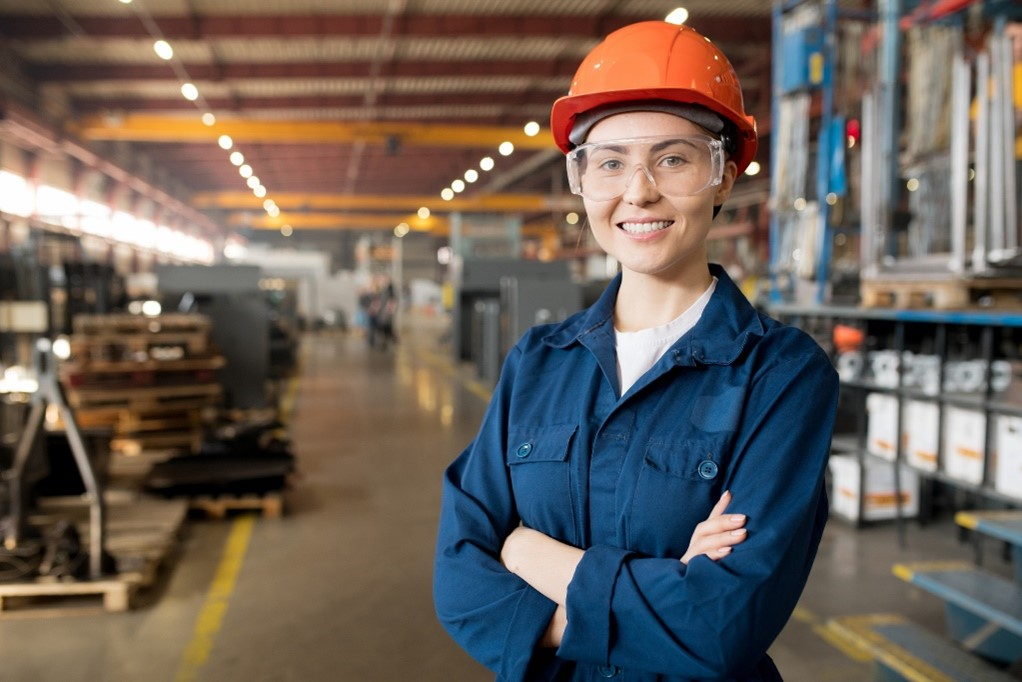 Employee at Warehouse